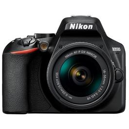 Nikon D3500 DSLR Digital Camera with 18-55mm lens AF-P DX VR Black thumbnail