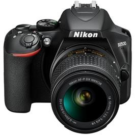 Nikon D3500 DSLR Digital Camera with 18-55mm lens AF-P DX VR Black Thumbnail Image 4