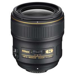 Nikon AF-S NIKKOR 35mm Lens f/1.4 G Wide-angle Prime Lens thumbnail