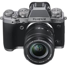 Fujifilm X-T3 Mirrorless Camera + XF18-55mm R Lens Kit (Silver) Thumbnail Image 3