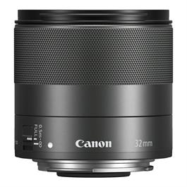 Canon EF-M 32mm lens f/1.4 Macro IS STM Front