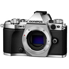 Olympus OM-D E-M5 Mark II Mirrorless Camera Body - Silver thumbnail