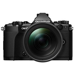 Olympus OM-D E-M5 Mark II Camera With 12-40mm Lens Kit - Black Thumbnail Image 1