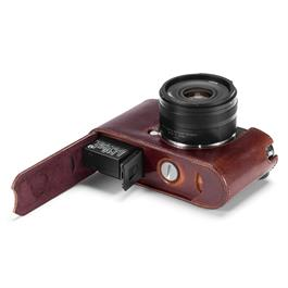 Leica CL Protector Brown Leather