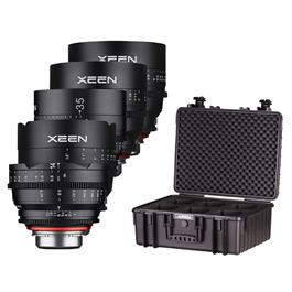 Samyang XEEN Cinema Lens Kit 14/24/35/50/85mm - Canon EF Fit thumbnail