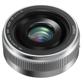 Panasonic Lumix G 20mm f/1.7 II ASPH Silver - M4/3 lens Thumbnail Image 0