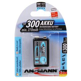Ansmann MAXe 9V 250mAh Rechargeable Battery thumbnail