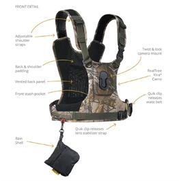 Cotton Carrier Camera Harness G3 Realtree Xtra Camo (1 Camera)