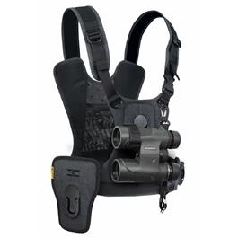 Cotton Carrier Camera Harness System G3 Charcoal Grey (1 Camera and Binoculars) thumbnail