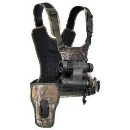Cotton Carrier Camera Harness System G3 Realtree Xtra (1 Camera and Binoculars) thumbnail