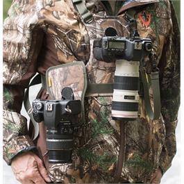 Cotton Carrier Camera Harness System G3 Realtree Xtra Camo (2 Cameras)