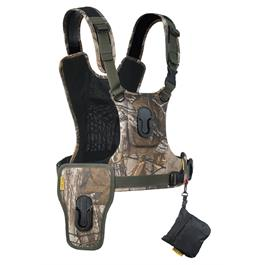 Cotton Carrier Camera Harness System G3 Realtree Xtra Camo (2 Cameras) thumbnail