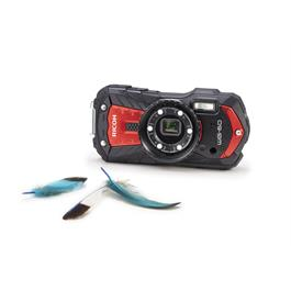 Ricoh WG-60 Red underwater digital compact camerat  Thumbnail Image 3