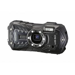 Ricoh WG-60  Black- waterproof & shockproof digital compact camera  thumbnail