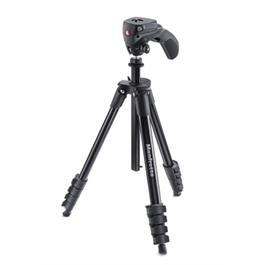 Manfrotto Compact Action Tripod Kit Black thumbnail
