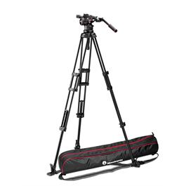 Manfrotto Nitrotech N12 Fluid Head with 545 2-Stage Aluminium Tripod Kit thumbnail