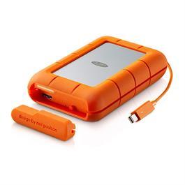 LaCie 4TB Rugged RAID Thunderbolt &  USB 3.0 Portable Hard Drive thumbnail