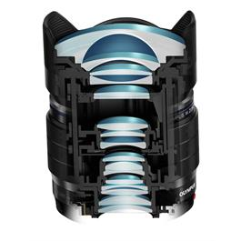 Olympus 8mm f1.8 PRO M.Zuiko Digital ED Fisheye Lens Thumbnail Image 3
