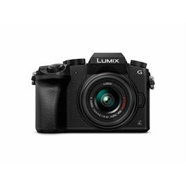 Panasonic DMC-G7 camera + 14-42mm lens Black thumbnail