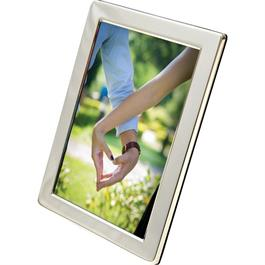 Swains Classic Narrow Silver Plated 4x6 Frame thumbnail