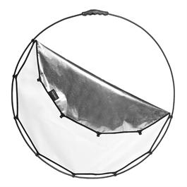 "Lastolite HaloCompact 82cm (32"") Silver/White Reflector - LL LR3300 thumbnail"