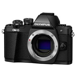 Olympus OM-D E-M10 Mark II Mirrorless Camera Body - Black thumbnail