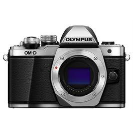 Olympus OM-D E-M10 Mark II Mirrorless Camera Body - Silver Thumbnail Image 4