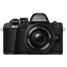 Olympus OM-D E-M10 II + 14-42 EZ mirrorless digital camera Black Thumbnail Image 4