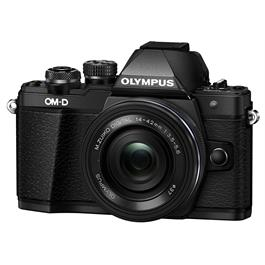 Olympus OM-D E-M10 II + 14-42 EZ mirrorless digital camera Black thumbnail