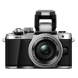Olympus OM-D E-M10 Mark II Camera With 14-42mm EZ Lens Kit - Silver Thumbnail Image 4
