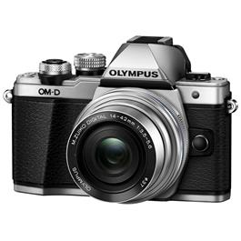 Olympus OM-D E-M10 Mark II Camera With 14-42mm EZ Lens Kit - Silver Thumbnail Image 5