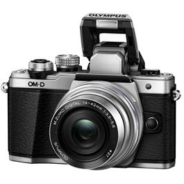 Olympus OM-D E-M10 Mark II Camera With 14-42mm EZ Lens Kit - Silver Thumbnail Image 6