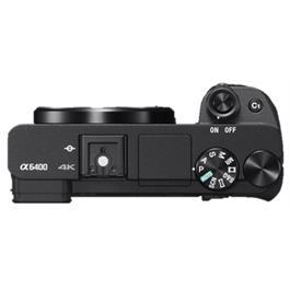 Sony a6400 Black Mirrorless Camera Body Thumbnail Image 2