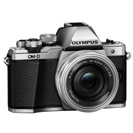 Olympus OM-D E-M10 Mark II Camera With 14-42mm EZ Lens Kit - Silver Thumbnail Image 9