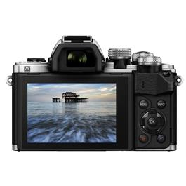 Olympus OM-D E-M10 II + 14-42 EZ + 40-150 Black/silver Thumbnail Image 1
