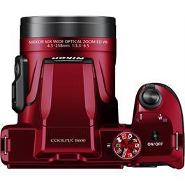 Nikon Coolpix B600 Red Thumbnail Image 3