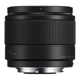 Panasonic LUMIX G 25mm f/1.7 ASPH Lens - Black Thumbnail Image 1