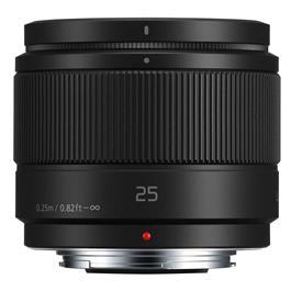 Panasonic LUMIX G 25mm f/1.7 ASPH Lens - Black Thumbnail Image 3