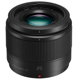 Panasonic LUMIX G 25mm f/1.7 ASPH Lens - Black thumbnail