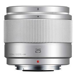 Panasonic LUMIX G 25mm f/1.7 Asph. Silver Thumbnail Image 1