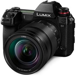 Panasonic Lumix S1 Full Frame L-Mount camera with 24-105mm f4.0 L Lens Thumbnail Image 1