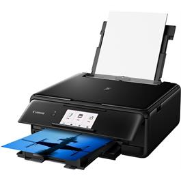 Canon Pixma TS8150 Printer - Black - Refurbished Thumbnail Image 2