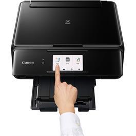 Canon Pixma TS8150 Printer - Black - Refurbished Thumbnail Image 3