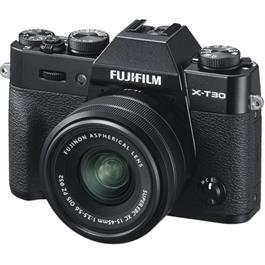 Fujifilm X-T30 Mirrorless Camera with XC 15-45mm OIS Lens Kit - Black thumbnail