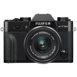 Fujifilm X-T30 Mirrorless Camera with XC 15-45mm OIS Lens Kit - Black Thumbnail Image 1