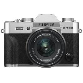 Fujifilm X-T30 Mirrorless Camera with XC 15-45mm OIS Lens Kit - Silver Thumbnail Image 1