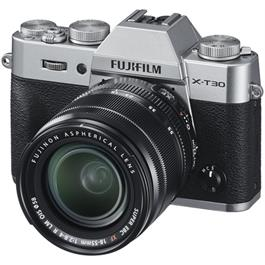 Fujifilm X-T30 Mirrorless Camera With XF 18-55mm Lens Kit - Silver thumbnail