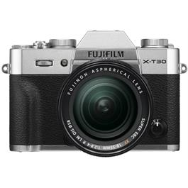 Fujifilm X-T30 Mirrorless Camera With XF 18-55mm Lens Kit - Silver Thumbnail Image 1