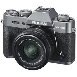 Fujifilm X-T30 Mirrorless Camera with XC 15-45mm Lens Kit - Charcoal thumbnail