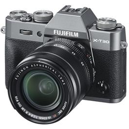 Fujifilm X-T30 Mirrorless Camera With XF 18-55mm Lens Kit - Charcoal thumbnail